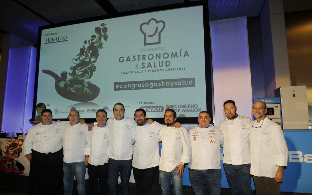 El IV Congreso de Gastronomía y Salud bate récord de asistencia