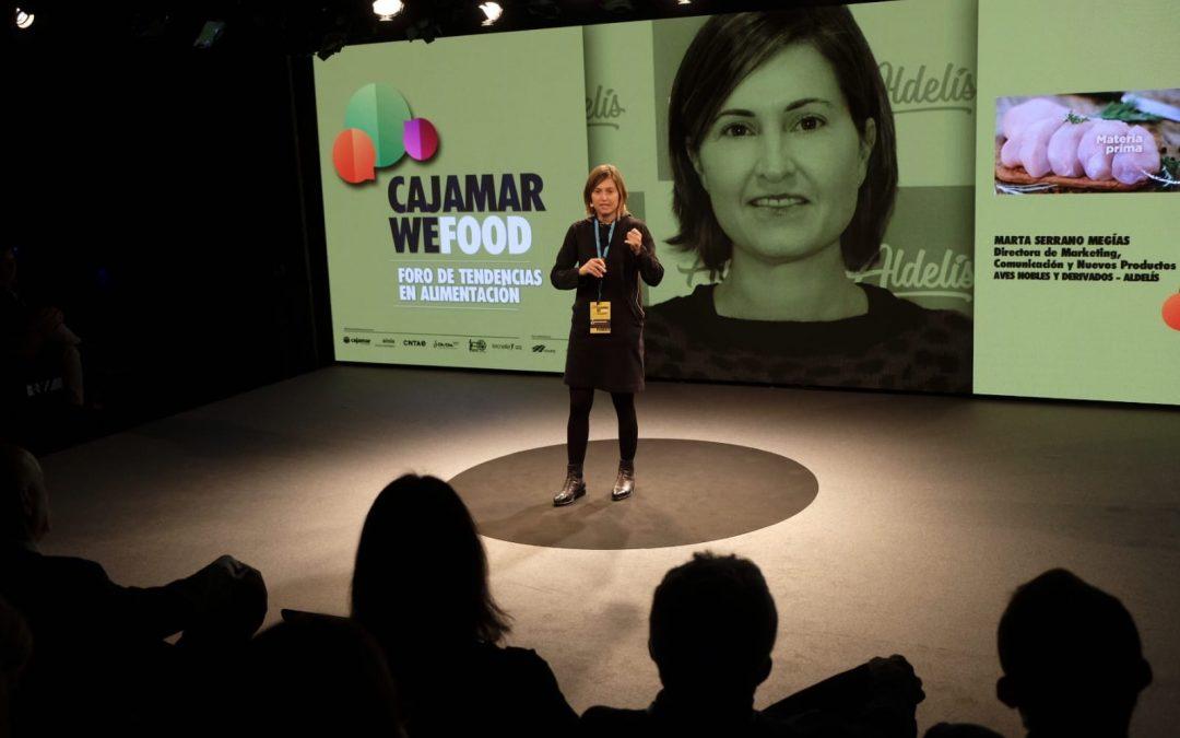 """Marta Serrano: """"El consumidor quiere productos sabrosos, que se preparen en cinco minutos y con un aporte nutricional adecuado"""""""