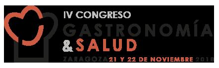 Resultado de imagen de logo congreso gastronomia y salud