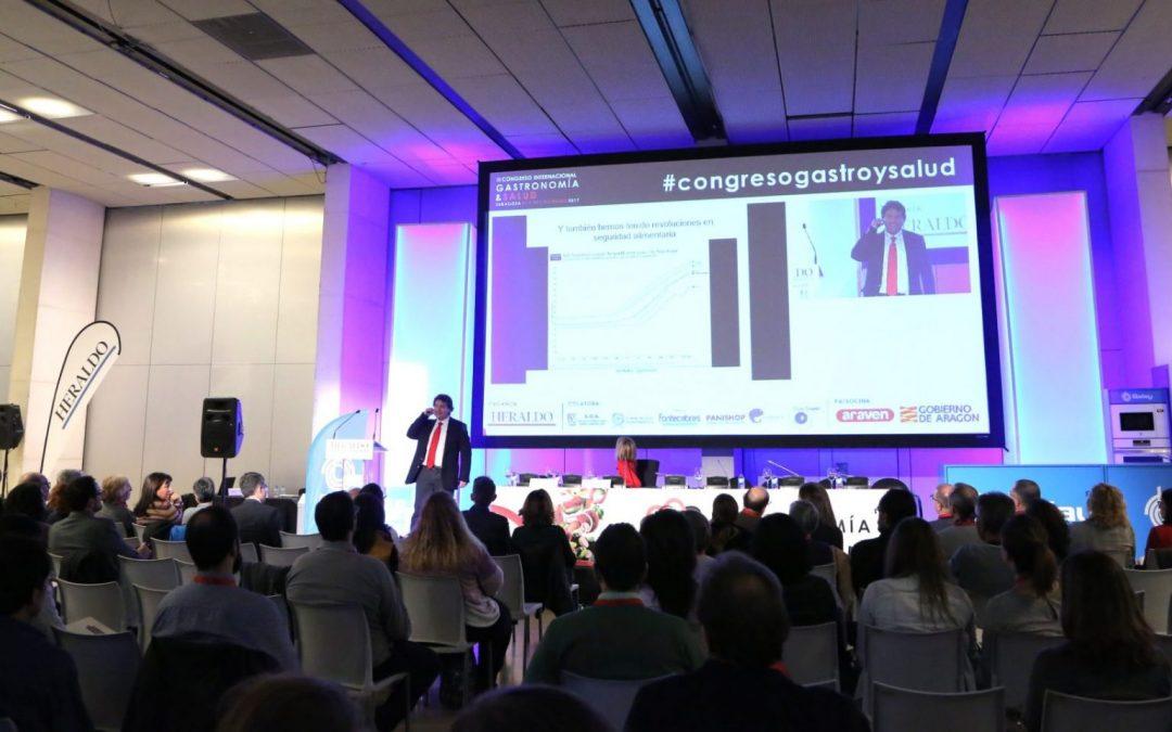 José Miguel Mulet, en la IV edición del Congreso de Gastronomía ySalud.