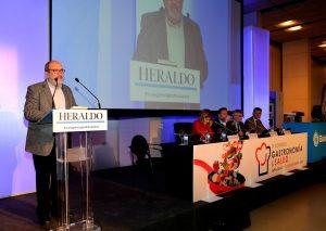 Juan Barbacil, director del Congreso de Gastronomía y Salud, en la edición celebrada en 2018.